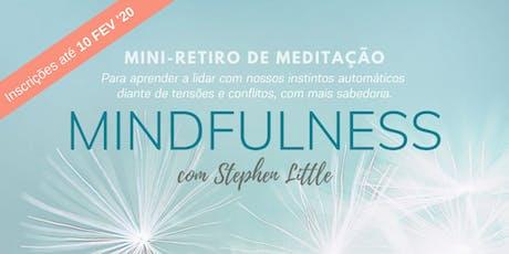 Mini retiro Mindfulness 2020 ingressos