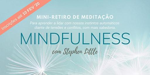 Mini-retiro Mindfulness  'março 2020
