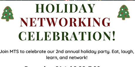 HOLIDAY NETWORKING CELEBRATION! tickets