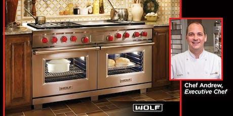 Sub-Zero/Wolf Appliance Demonstration & Lunch in Littleton tickets