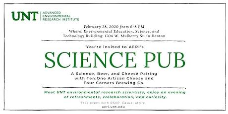 AERI's Science Pub Spring 2020 tickets