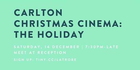 Carlton Christmas Cinema: The Holiday tickets