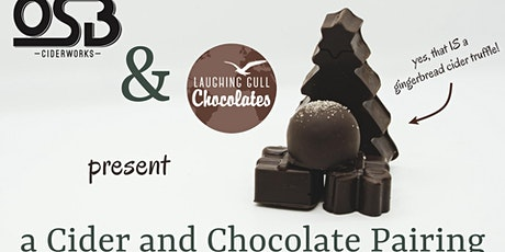 Cider and Chocolate Pairing tickets