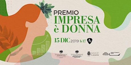 Premio Impresa è Donna 2019 biglietti