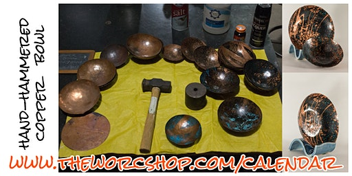 Hand-hammered Copper Bowls with Amanda Barker 1.25.20