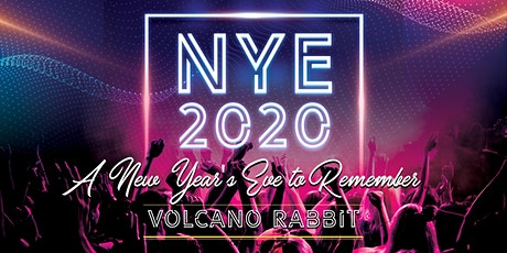 San Diego NYE 2020 Party at Volcano Rabbit tickets
