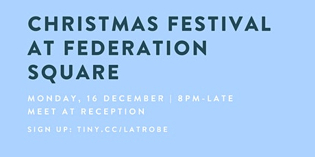 Christmas Festival at Federation Square tickets