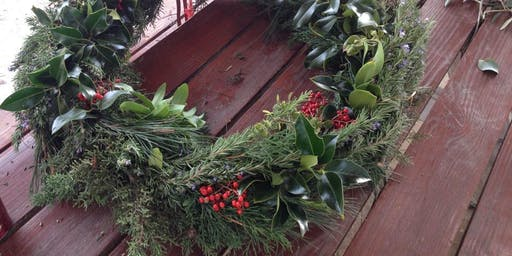 Wreath Making at the Farm Stand