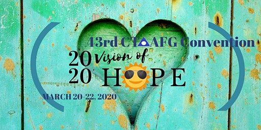 43rd AFG CONVENTION-2020 VISION OF HOPE-NEW VENUE
