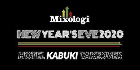 Mixologi New Year's Eve 2020 tickets