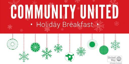 Community United Holiday Breakfast