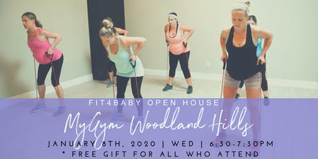 Fit4Baby Open House (Pre-natal) tickets