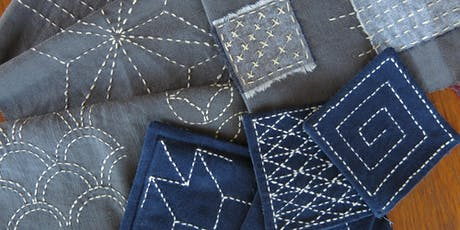 Sashiko Stitching with Heather Young  tickets