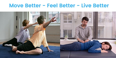 Tap Into Your Healing Potential: Introduction to the Feldenkrais Method tickets