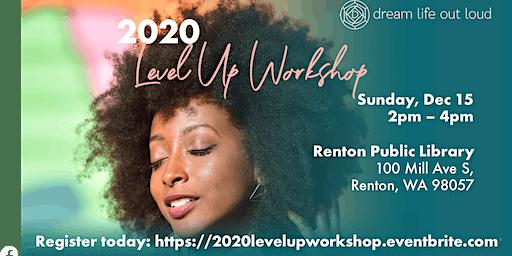 2020 Level Up Workshop