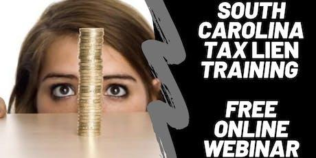 South Carolina Tax Liens & Tax Deeds (LIVE WEBINAR) tickets