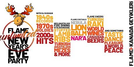 Flame+ Kanada Geyikleri New Year Party tickets