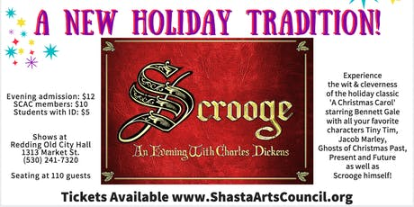 Scrooge, An Evening with Charles Dickens tickets