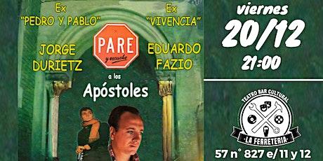 Jorge Durietz Y Eduardo Fazio En La Ferre! entradas