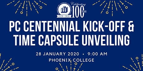 PC Centennial Kick-Off and Time Capsule Unveiling tickets