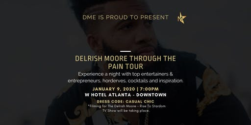 Delrish Moore Through The Pain Tour Experience