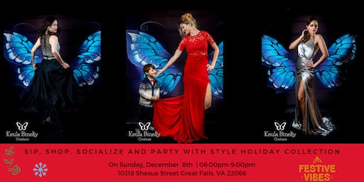Sip, Shop, Socialize and Shop with style Holiday Collection