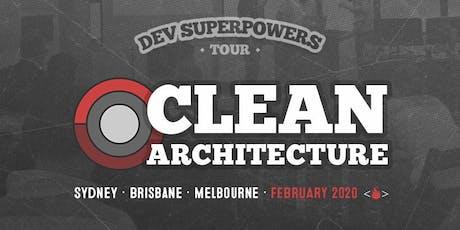 Clean Architecture  Dev Superpowers tickets