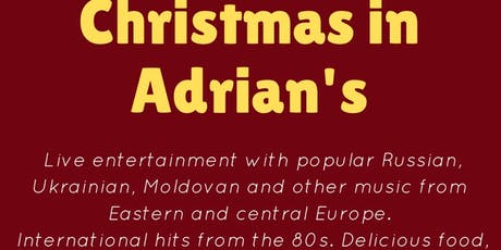 Russian Romantic Guitar Christmas @ Adrian Bistro Grill Restaurant, London, W1 tickets
