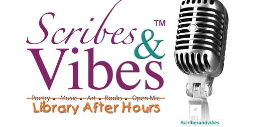 Scribes & Vibes: Library After Hours at Locust Grove Library