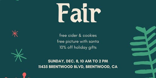 Holiday Gift Fair at the Farm