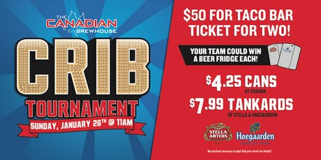 Spruce Grove Crib Tournament! tickets