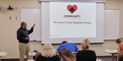 CRI Course 2: Trauma Supportive Training