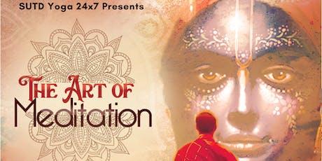 Art of Meditation: Importance of Role Models (Free Meditation/Dinner) tickets