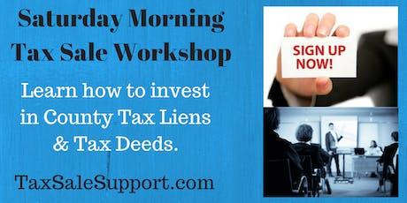 California Tax Deed Foreclosure Workshop (Live Webinar) tickets