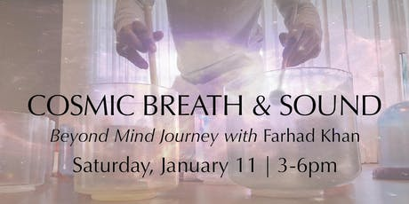Cosmic Breath & Sound tickets