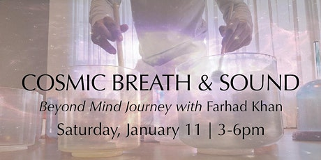 Cosmic Breath & Sound tickets
