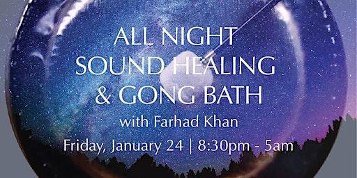 All Night Sound Healing & Gong Bath