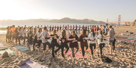 Sunset Beach Yoga with Julie! tickets