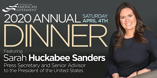 2020 Annual Dinner Featuring Sarah Sanders