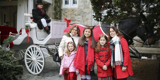 New Date! Horse-Drawn Holiday Carriage Ride and Holiday Photo Shoot: Dec 8