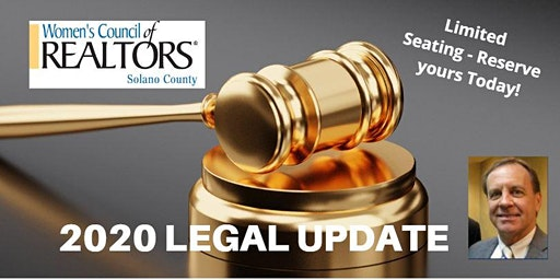 WCR Solano 2020 Legal Update