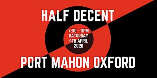 Half Decent Live At The Port Mahon [Live Rap/ Hip Hop Event]