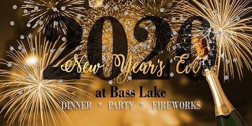 New Year's Eve Celebration with Fireworks at Bass Lake