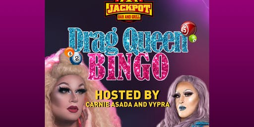 Drag Queen Bingo at Jackpot Bar and Grill