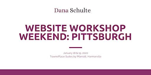 January Website Workshop Weekend in Pittsburgh