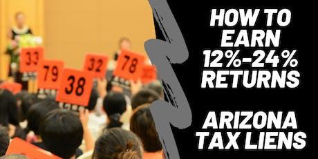 Arizona Tax Lien Investor Live Webinar Training tickets