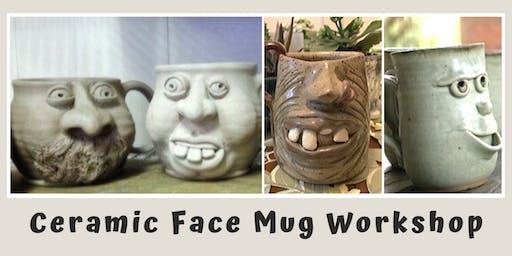 Ceramic Face Mug Workshop