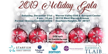 2019 Holiday Gala:  Fun and Fabulous... For a Cause tickets