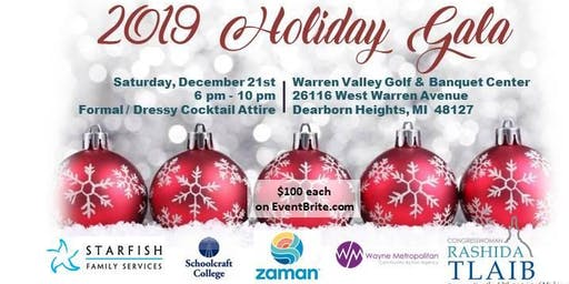 2019 Holiday Gala:  Fun and Fabulous... For a Cause