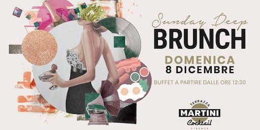 Inaugurazione SUNDAY DEEP BRUNCH in Terrazza